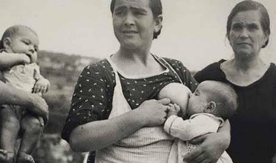 Histoire de l'allaitement au XXe siècle
