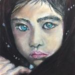 La petite fille aux yeux bleus