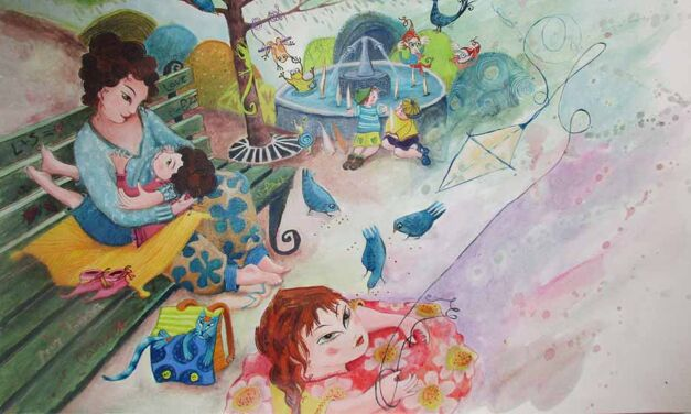 Un magnifique album jeunesse sur l'allaitement des bambins