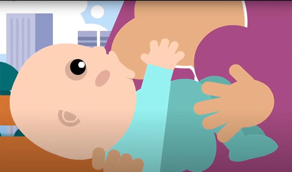 Une vidéo canadienne sur les avantages de l'allaitement