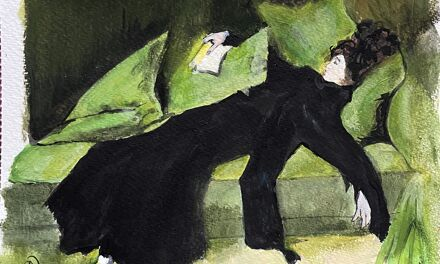 """D'après """"Après le bal"""" de R. Casas y Carbo"""