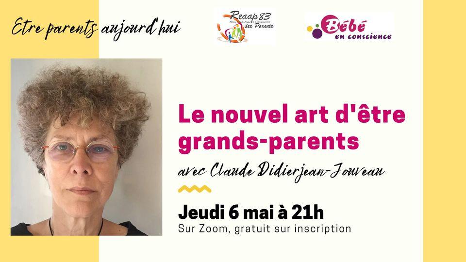 """6 mai, conférence-débat sur """"Le nouvel art d'être grands-parents"""""""