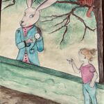 Liouba rencontre le Lapin blanc